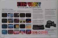 CBS Colecovision  Box Back 200px