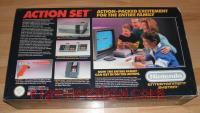 Nintendo Entertainment System Action Set - Orange Zapper Box Back 200px