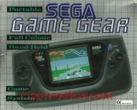 Sega Game Gear  Box Front 200px