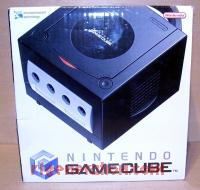 Nintendo GameCube Black Box Front 200px