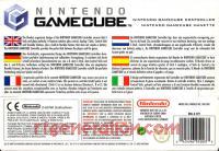GameCube Controller Official Nintendo - Indigo Box Back 200px