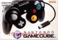 GameCube Controller Official Nintendo - Black Box Front 200px