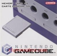Memory Card 59 Grey - Official Nintendo Box Front 200px