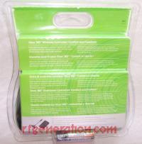 Microsoft Xbox 360 Wireless Controller Black Box Back 200px