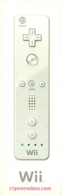 Nintendo Wii Remote  Box Front 200px