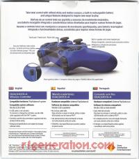 DualShock 4 Controller Wave Blue Box Back 200px