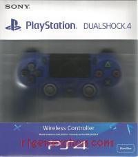 DualShock 4 Controller Wave Blue Box Front 200px