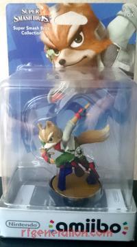 Amiibo: Super Smash Bros.: Fox  Box Front 200px