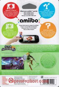 Amiibo: Super Smash Bros.: Link  Box Back 200px