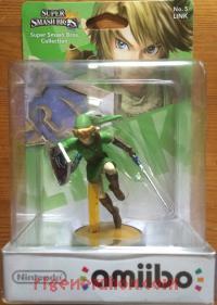 Amiibo: Super Smash Bros.: Link  Box Front 200px