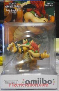 Amiibo: Super Smash Bros.: Bowser  Box Front 200px
