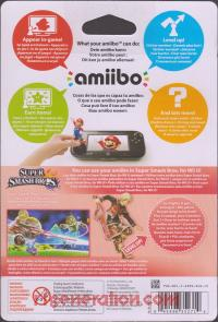 Amiibo: Super Smash Bros.: Shulk  Box Back 200px