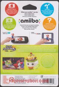 Amiibo: Super Smash Bros.: Bowser Jr.  Box Back 200px