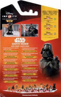 Disney Infinity 3.0: Star Wars Darth Vader  Box Back 200px