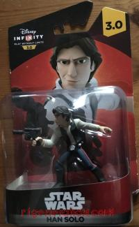 Disney Infinity 3.0: Star Wars Han Solo  Box Front 200px