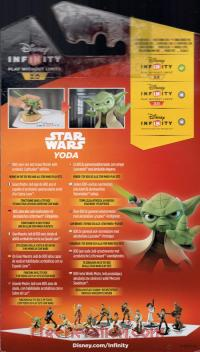 Disney Infinity 3.0: Star Wars Yoda  Box Back 200px