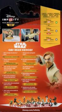 Disney Infinity 3.0: Star Wars Obi-Wan Kenobi Light FX Box Back 200px