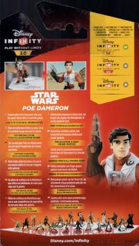 Disney InfINity 3.0: Star Wars Poe Dameron  Box Back 200px