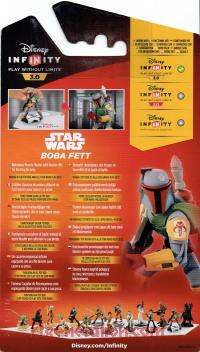 Disney Infinity 3.0: Star Wars Boba Fett  Box Back 200px