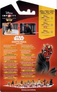 Disney Infinity 3.0: Star Wars Darth Maul  Box Back 200px