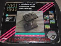 Neo Geo Advanced Entertainment System  Box Back 200px