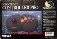 Neo Geo CD Controller Pro  Box Back 200px
