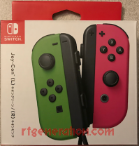 Joy-Con (L) / (R) Neon Green / Neon Pink Box Front 200px