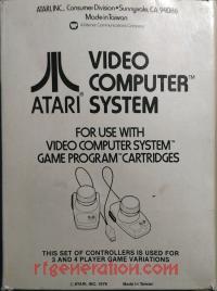 Paddle Controller Set No Atari Logo Box Back 200px