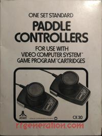 Paddle Controller Set No Atari Logo Box Front 200px