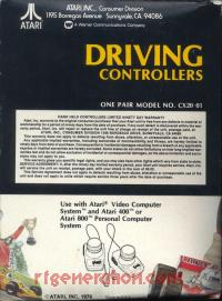 Driving Controller No Atari Logo Box Back 200px