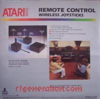 Remote Control Wireless Joysticks  Box Back 200px