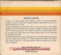Atari TV Game Switchbox  Box Back 200px