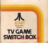 Atari TV Game Switchbox  Box Front 200px