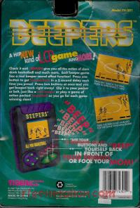 Beepers All Pro Basketball Box Back 200px