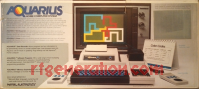 Mattel Aquarius Home Computer System  Box Back 200px