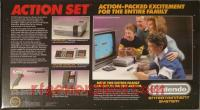 Nintendo Entertainment System Action Set - Gray Zapper Box Back 200px