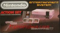 Nintendo Entertainment System Action Set - Gray Zapper Box Front 200px