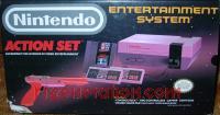 Nintendo Entertainment System Action Set - Orange Zapper Box Front 200px