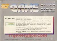 Game Action Replay  Box Back 200px