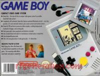 Nintendo Game Boy  Box Back 200px