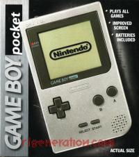 Nintendo Game Boy Pocket Silver Box Front 200px