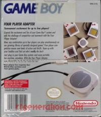 Nintendo Game Boy Four Player Adapter  Box Back 200px