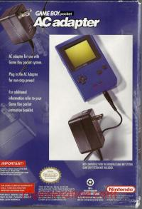 Game Boy Pocket AC Adapter  Box Back 200px