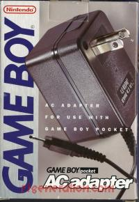 Game Boy Pocket AC Adapter  Box Front 200px