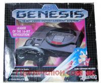 Sega Genesis Sonic The Hedgehog Bundle Box Front 200px