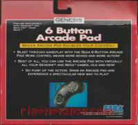 6 Button Arcade Pad  Box Back 200px