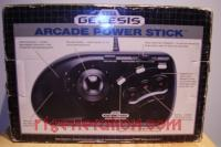 Sega Genesis Arcade Power Stick  Box Back 200px