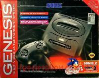 Sega Genesis 2 Sonic 2 System Bundle Box Front 200px