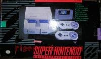 Super Nintendo Entertainment System Super Mario World Bundle Box Front 200px