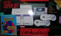 Super Nintendo Entertainment System Super Set - Super Mario All-Stars Offer Box Front 200px